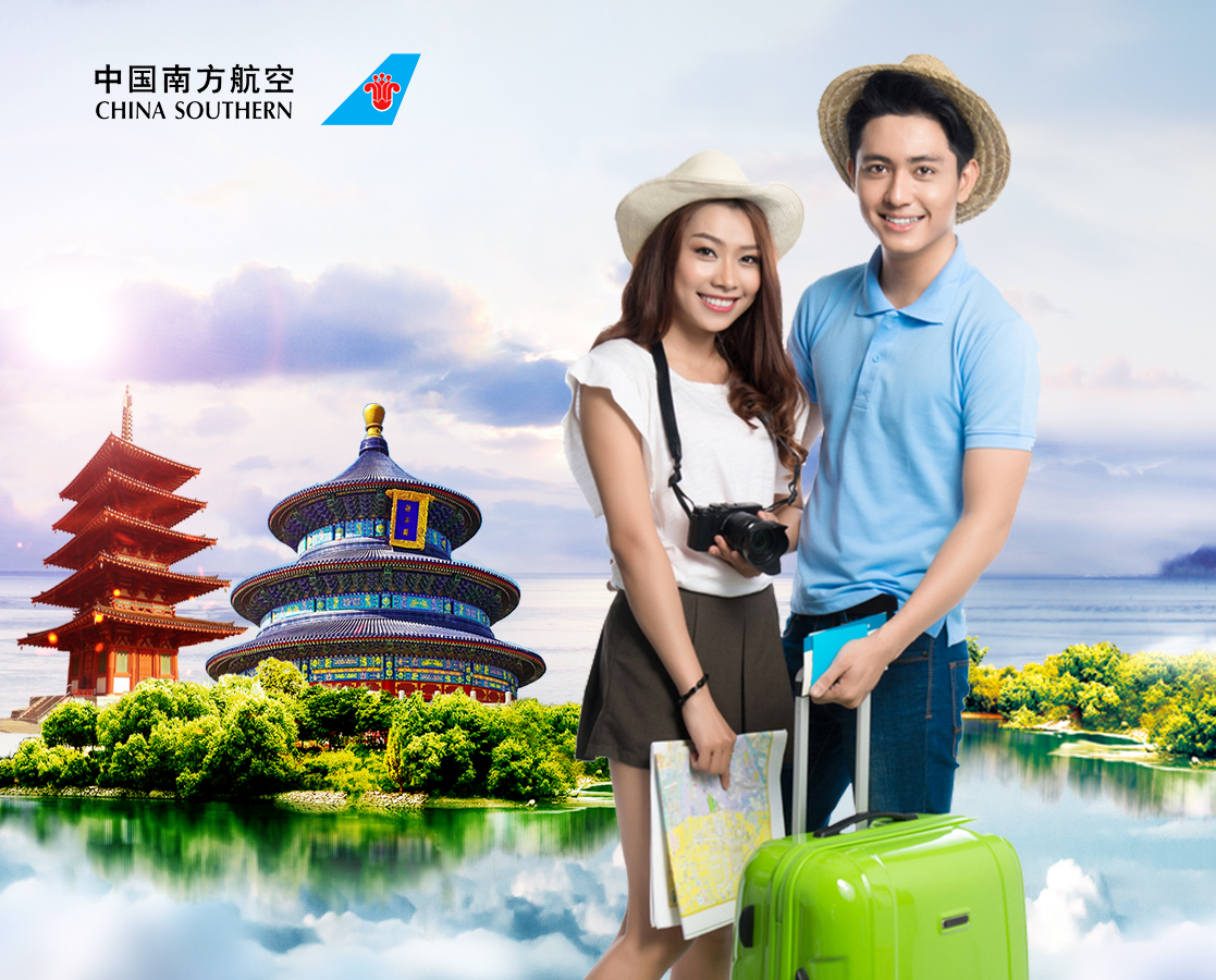 China Southern Airlines deals only from 3, 1 million