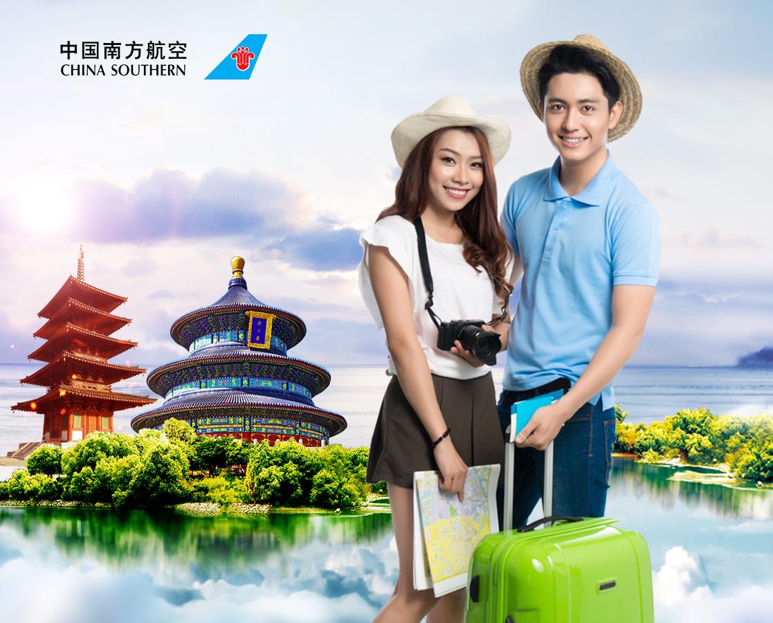 China Southern Airlines ưu đãi chỉ từ 3, 1 triệu