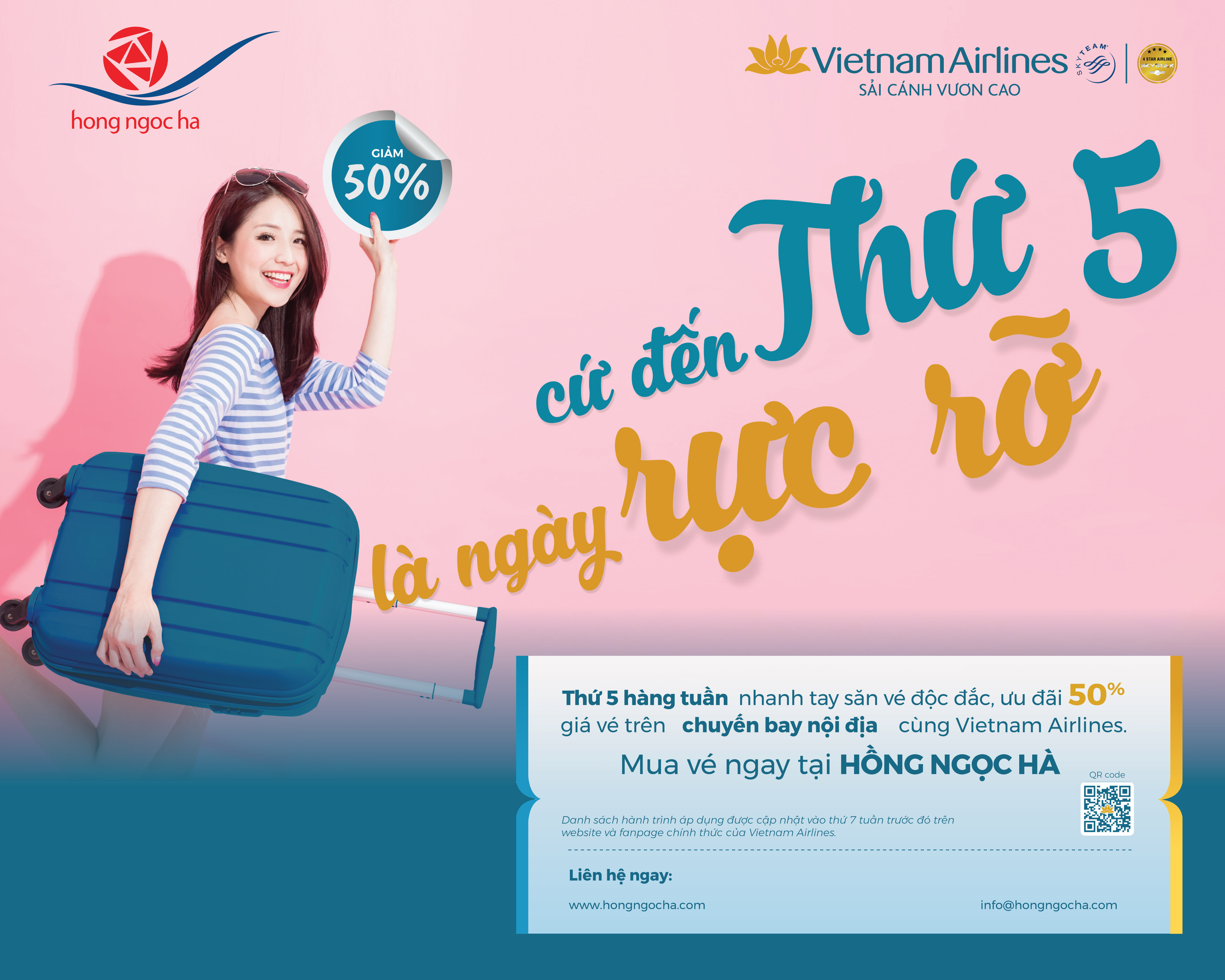 Brilliant Thursday with Vietnam Airlines