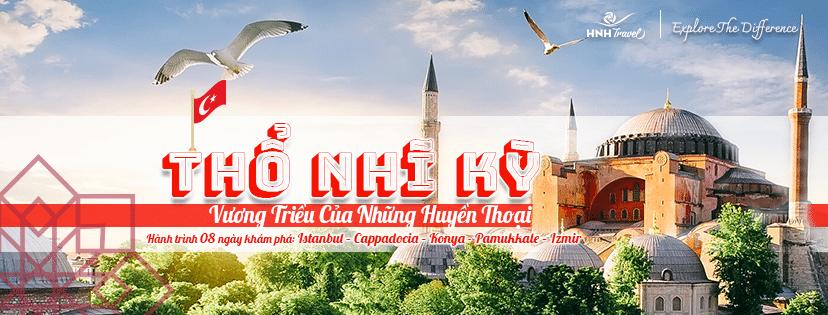 Tour Thổ Nhĩ Kỳ - Vương triều của những huyền thoại