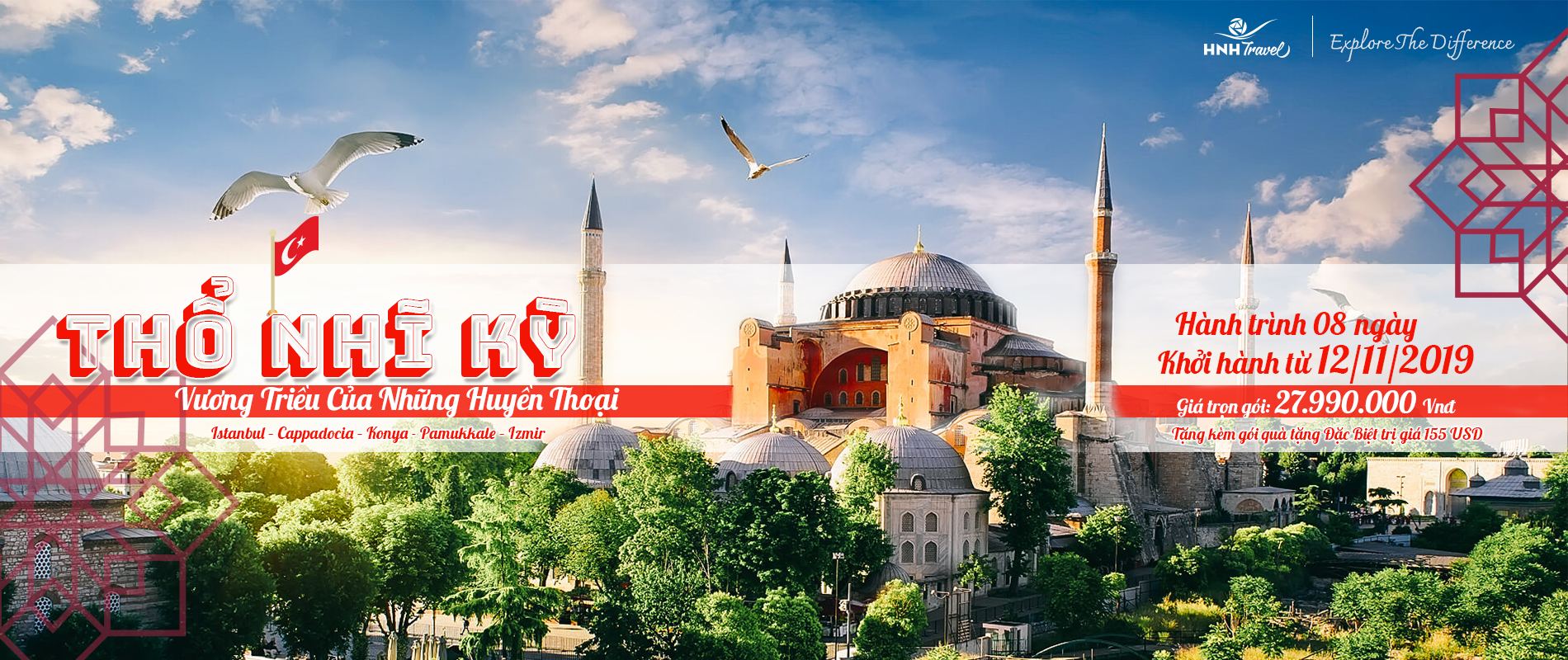Thổ Nhĩ Kỳ - 8 ngày 8 đêm