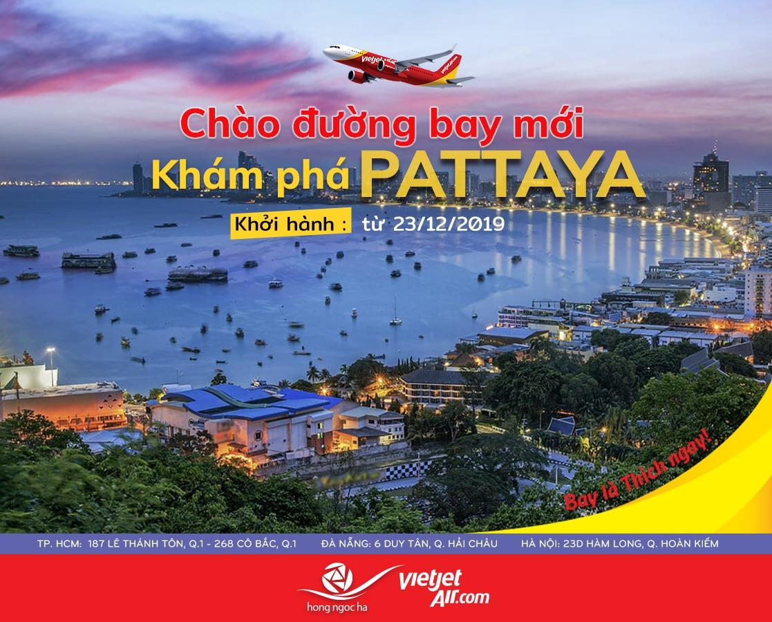 Ưu Đãi Bay Thẳng Pattaya | Vietjet Air