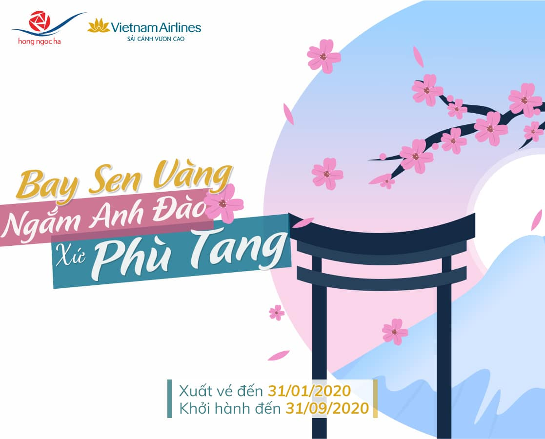 Đón Xuân Nhật Bản Cùng Vietnam Airlines