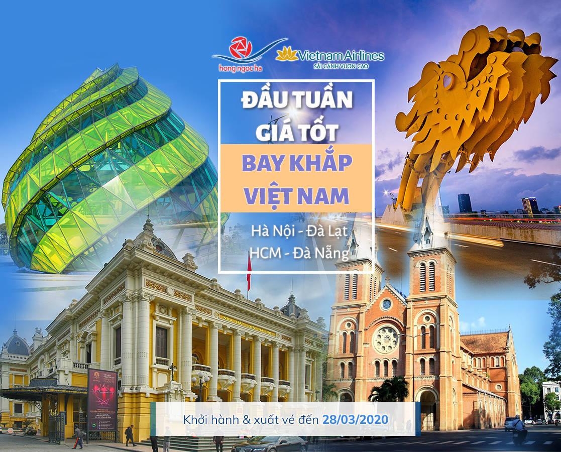 Đón Xuân Cùng Ưu Đãi Từ Vietnam Airlines