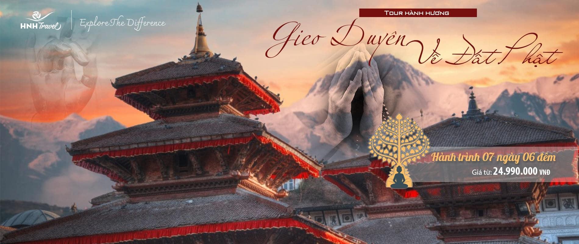 Tour Hành Hương - Giao Duyên Về Đất Phật
