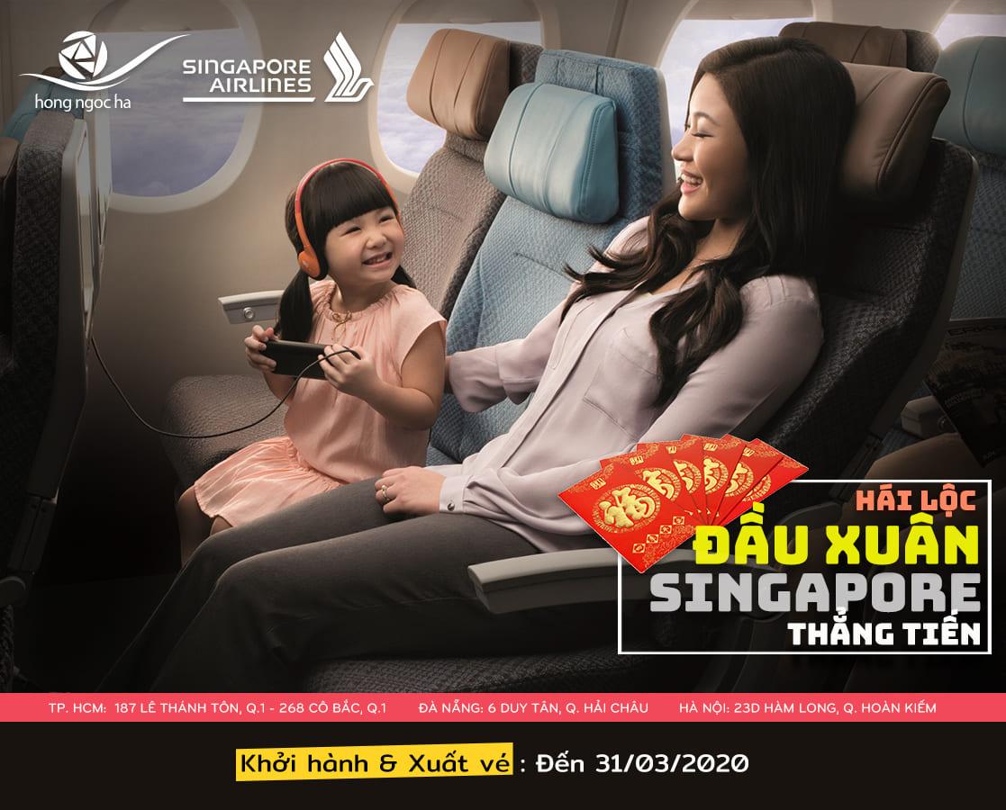 Ưu Đãi Hấp Dẫn Đi Singapore | Singapore Airlines