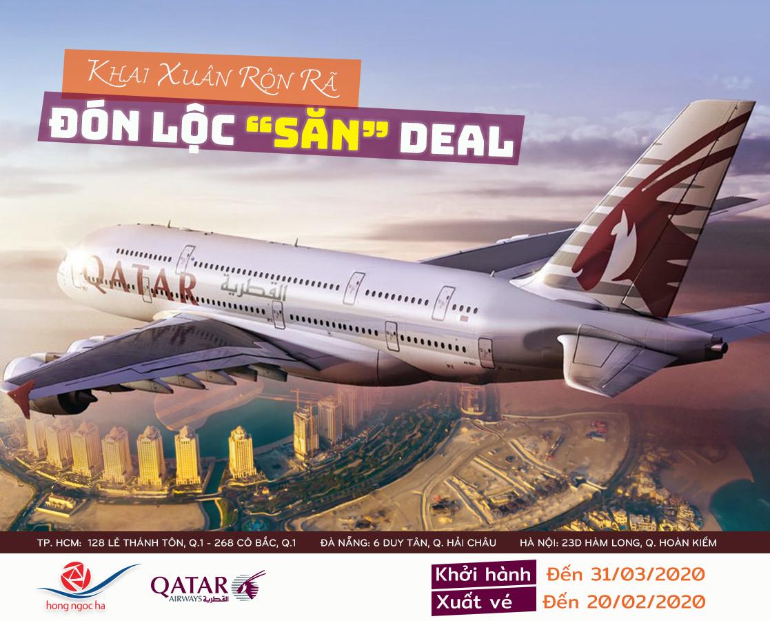 Du Xuân Đón Lộc Cùng Qatar Airways