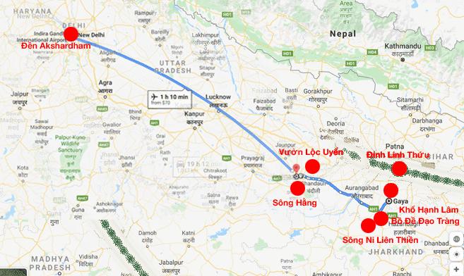 Lịch trình tour hành hương 7 ngày 6 đêm - HNH Travel