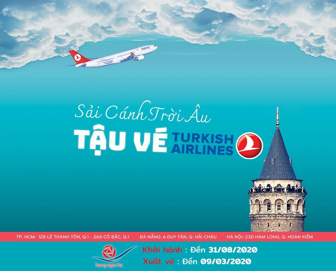 Ưu Đãi Vé Thương Gia Đi Châu Âu | Turkey Airlines