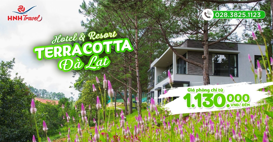 Terracotta Hotel & Resort Dalat 4 sao