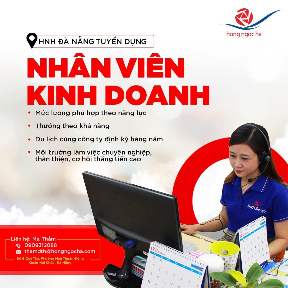Tuyển dụng nhân sự 04/2021 tại CN Đà Nẵng